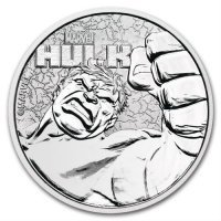 Srebrna moneta  HULK , Marvel 1 oz   2019