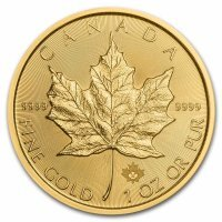.Złota moneta  Liść Klonowy (Maple Leaf ) -1 Oz. 2019