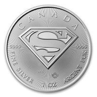 Srebrna moneta Superman   1 oz   2016 r