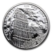 Srebrna moneta Big Ben / Landmarks of Britain    1 oz   2017 r