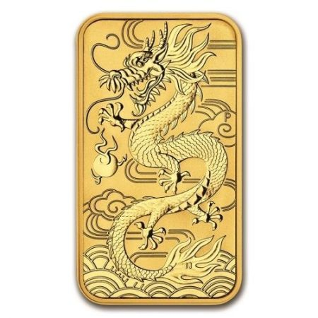 Złota moneta  Dragon  1 oz 2018 (Australia )