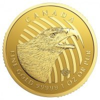 .         Złota moneta Call of the Wild - Orzeł / Golden Eagle   - 1 Oz  2018