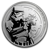 Srebrna moneta  STAR WARS - Stormtrooper   1 oz   2018 r